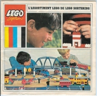 LEGO SYSTEM - CATALOGUE - L'ASSORTIMENT LEGO - DE LEGO SORTERING - 1968. - Catalogs