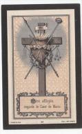 Décès Pierre Joseph Constant MONJOIE Veuf De Marie-Catherine Godart Décédé Au Clair-Chêne (Andenne) 1887 - Turgis - Images Religieuses