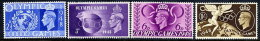 GREAT BRITAIN 1948 London Olympic Games  Set Of 4 MNH / ** - Unused Stamps