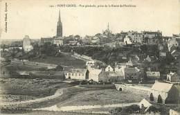 29  PONT CROIX Vue Prise De La Route De Plouhinec  église    Ed Villars N° 2114 - Pont-Croix