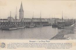 Nieuwpoort     Le Vieux Phare  Haven Vissersboten                Scan 5789 - Nieuwpoort