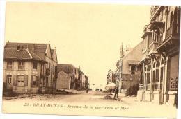 § TOP - PROMO § 59 - BRAY DUNES Avenue De La Mer Vers La Mer Animée écrite - Autres Communes