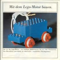 LEGO SYSTEM - CATALOGUE - MIT DEM LEGO - MOTOR BAUEN. (3166-Ty - Pat. N° 683 Pat. Pend.) - Catalogs
