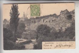 L 1000 LUXEMBURG, Bockfelsen, 1904 - Luxembourg - Ville