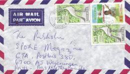 Nigeria 2000 Bukuru Democracy Mace Legislation N30 Crane Bird Cover - Nigeria (1961-...)
