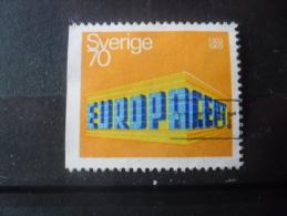 SUEDE Europa N°615a Dentelé Sur 3 Cotés Oblitéré - Gebraucht
