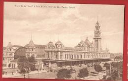 BBRA-22 Gare De La Luz à Sao Paolo -  Tramway.  Non Circulé.  A. Zoller. - São Paulo