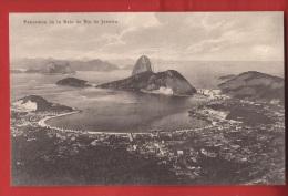 BBRA-31 Panorama De La Baie De Rio De Janeiro    Zoller, Non Circulé - Rio De Janeiro