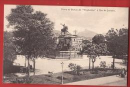 BBRA-35 Place Et Statue De Tiradentes Rio De Janeiro  Zoller, Non Circulé - Rio De Janeiro