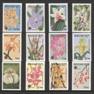 Bhutan - 1990 Orchids MNH__(TH-11587) - Bhutan
