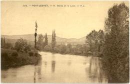 39/CPA - Port Lesney - Bords De La Loue - Andere Gemeenten