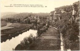 24/CPA - Les Eyzies - Laugerie Basse - Vue Prise De La Grotte Des Missalgues - Frankreich