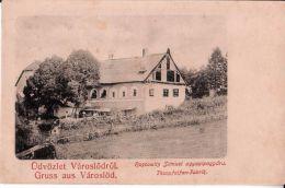 Városlod ,  Veszprém  --------   ROSCOWITZ  Samuel  ,  Thonpfeifen -  Fabrik  ,  Judaica - Hongrie