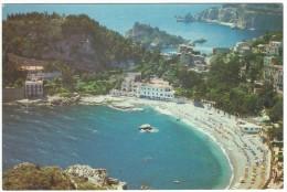2004,Taormina, Il Lido Di Mazzarò E L´Isola Bella - Messina