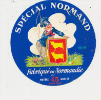 H 947 / ETIQUETTE -   SPECIAL NORMAND    .   61  S   ORNE - Fromage