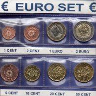 Neu EURO-Münzen Lettland 2014 Stg 23€ Stempelglanz Der Staatlichen Münze Riga New Set 1C. - 2€ Coins Republik Of Latvija - Letonia