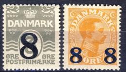 #Denmark 1921. Michel 129-30. MNH(**). - Nuovi