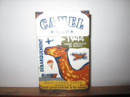 PAQUET VIDE 1944 CAMEL  MILD DEBARQUE EN FRANCE - Empty Cigarettes Boxes