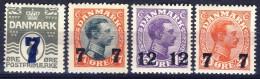#Denmark 1926-27. Michel 156-58 + 174. MNH(**). - Nuovi