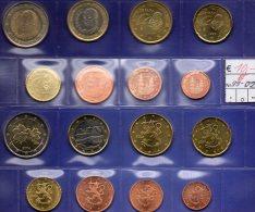 Mix-set Spanien EURO 1999-2002 Prägeanstalt Madrid Stg. 20€ Stempelglanz Staatlichen Münze SPAIN 1C.- 2€ Coins Of ESPANA - [ 5] 1949-… : Kingdom