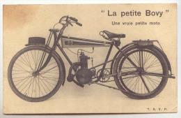 E2064 - La Petite Bovy, Constructeur Des Cycles Et Motos Bovy Bd Sauvenière Liège - Moto