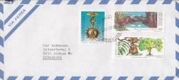 Argentina SECURSAL 1993 CoverLetra To AARHUS V. Denmark Tree Baum Medal Order Bird Vogel Oiseau Stamps - Luftpost