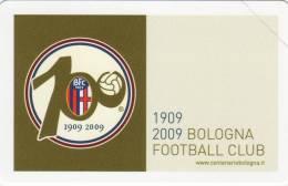 *ITALIA: 1° CENTENARIO DEL BOLOGNA F.C.* - Scheda Usata - Public Practical Advertising