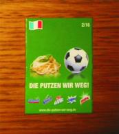 Pub Magnet Allemand N°2/16 Die Putzen Wir Weg Calgonit/Vanish/CilitBang/Calgon/Harpic - Magnetos