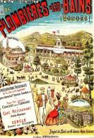 PLOMBIERES - TOURISME, RAIL, CHEMIN DE FER - CPM  TBon Etat - Publicité