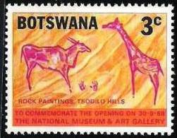 BOTSWANA Rupestre, Prehistoire YVERT 195 **MNH Neuf Sans Charniere - Sellos