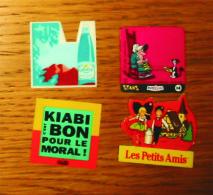 Pub Magnet Divers X 4 Kiabi/Maître Coq/Les Petits Amis/Salvetat - Magnete
