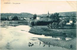 MEURTHE ET MOSELLE 54.CUSTINES VUE GENERALE - Francia