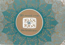 PUBBLICITARI-PUBBLICITA'2 0 ANNI 1948-1968 CON SELEZIONE - Pubblicitari