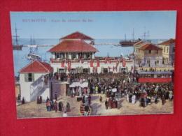 Beyrouth Garre de Chemin de Fer ca 1910 Not mailed  - ref 1144