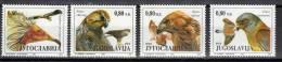 Yugoslavia,Protected Species-Birds Of Pray 1994.,MNH - 1992-2003 Federal Republic Of Yugoslavia