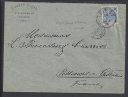 ITALIE - TRIESTE - 1891 -  LETTRE DE TRIESTE A DESTINATION DE PITHIVIERS EN  GATINAIS - FR - - Trieste