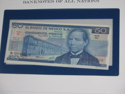 50 Cincuenta Pesos 1973 - El Banco De Mexico - MEXIQUE  - Billet Neuf - UNC  !!! **** ACHAT IMMEDIAT *** - Mexico