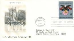 United States 2002 U.S. Military Academy #3560 FDC - United States