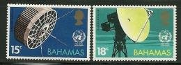 "Bahamas   ""Satellite""      Set   SC# 346-47   MNH** - Bahamas (1973-...)"
