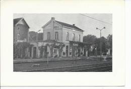 Gare Station Statie   Chemin Du Fer De Pinte Foto - De Pinte