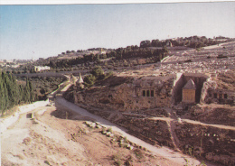 ISRAEL ,JERUSALEM,yéroushalaim,j Ewish,judaica,ENDROIT SAINT POUR LES JUIFS,KIDRON VALLEY,TOMBE - Israel