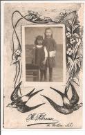 44 - LE CELLIER - Photo De Deux Jeunes Filles - Photographe: H. Fébreau - Le Cellier