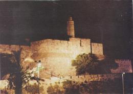 ISRAEL ,JERUSALEM,yéroushalaim,CITADEL,LA NUIT - Israel