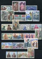 Série Complète Histoire De France 1966/1973 Tous Neufs**  24 Timbres - Neufs