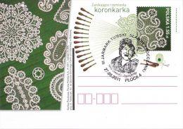 M POLAND - Postcard - 2011.04.29. Cp 1572 Declining Crafts: Performance Of Lace - Ganzsachen