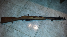 Fusil Mosin Nagan Ww2  Neutra - Decorative Weapons