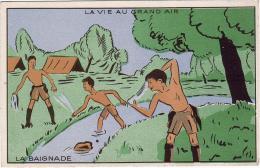 SCOUTISME / LA VIE AU GRAND AIR / LA BAIGNADE - Scoutismo