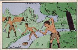 SCOUTISME / LA VIE AU GRAND AIR / LA BAIGNADE - Scoutisme