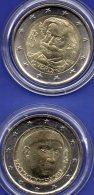 2€ Italien 2013 Stg 12€ Edition Musiker Verdi+Schriftsteller Boccaccio Stempelglanz 2EURO-Münze Rom Artist Coin Of Italy - 1946-… : Republic