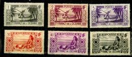 Oceanie Y&t N° 84.85.88.94.101.sans Charnière 96. Avec Petit Aminci - Océanie (Établissement De L') (1892-1958)